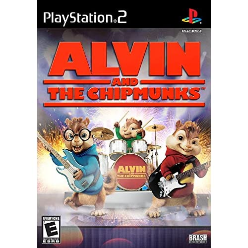 Alvin And The Chipmunks For PlayStation 2 PS2 With Manual and Case