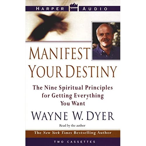 Image 0 of Manifest Your Destiny By Dyer Wayne W Dyer Wayne W Reader On Audio Cassette