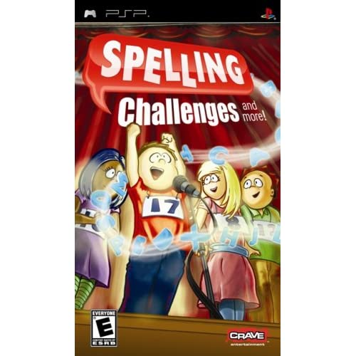 Image 0 of Spelling Challenges And More Sony For PSP UMD