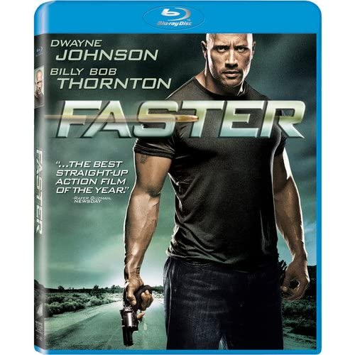 Image 0 of Faster Blu-Ray On Blu-Ray With Dwayne Johnson