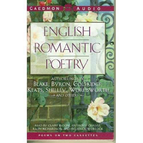 Image 0 of English Romantic Poetry By Claire Bloom Reader And Anthony Quayle Reader And Ral