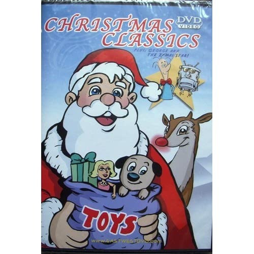 Image 0 of Christmas Classics Toys On DVD