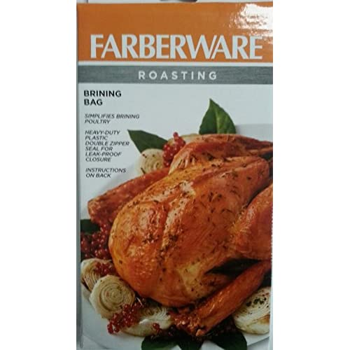 Farber Ware Brining Bags For Roasting Turkey Chicken Pot Roast