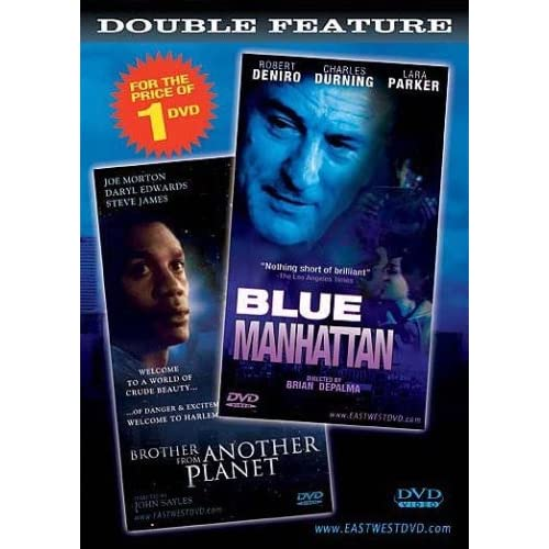 Image 0 of Blue Manhattan And Brother From Another Planet DVD Double Feature On DVD With Ro