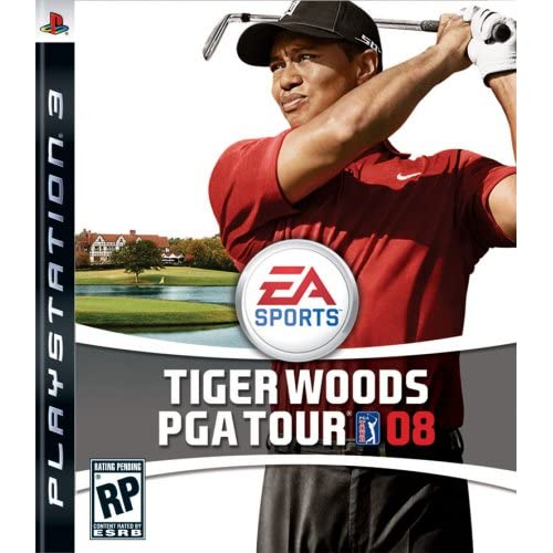 Tiger Woods PGA Tour 08 For PlayStation 3 PS3 Golf
