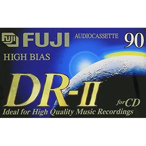 Image 0 of Fuji Dr-Ii 90 High Bias On Audio Cassette