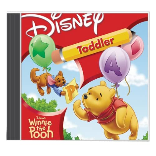 Pooh Toddler w/French And Spanish Software Disney