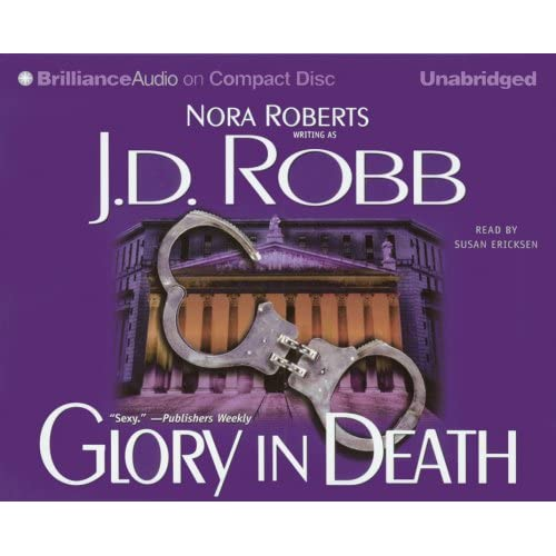 Image 0 of Glory In Death In Death #2 By Robb J D Ericksen Susan Reader On Audio Cassette