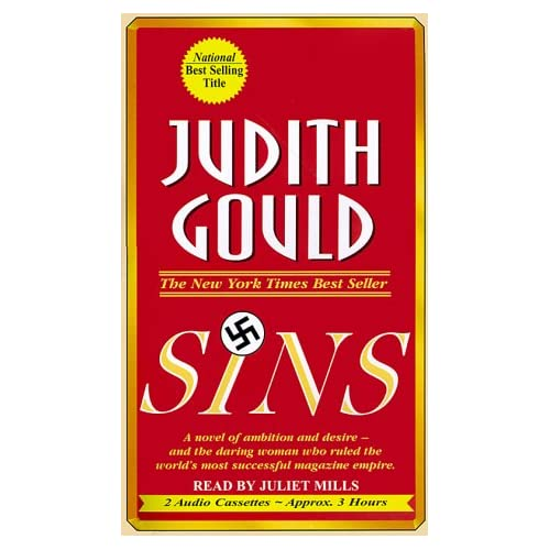 Image 0 of Sins By Gould Judith Mills Juliet Narrator On Audio Cassette