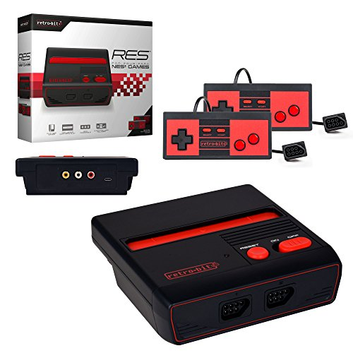 Retro-Bit Res Gaming Console For Nintendo Entertainment System NES