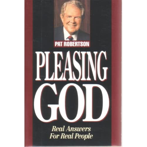 Image 0 of Pleasing God Real Answers For Real People By Pat Robertson On Audio Cassette