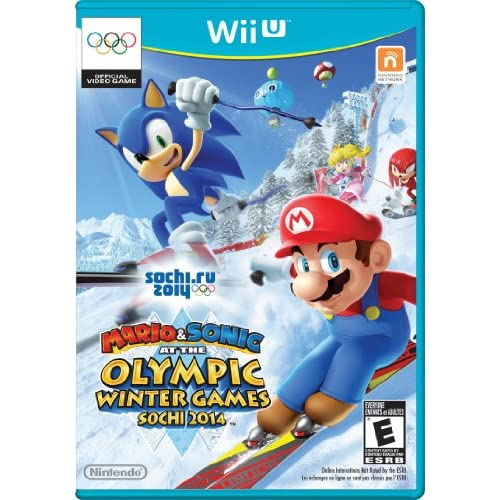 Mario And Sonic At The Sochi 2014 Olympic Winter Games For Wii U