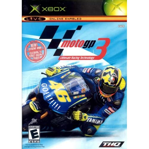 Old Xbox Games Racing Games : Moto gp ultimate racing technology xbox for original