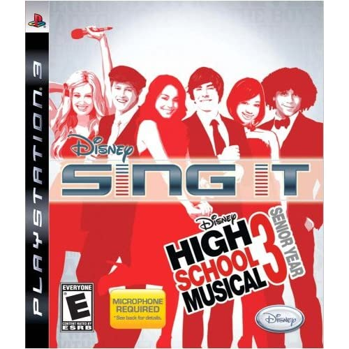 Sing It! High School Musical 3: Senior Year Game Only For PlayStation 3 PS3 Disn