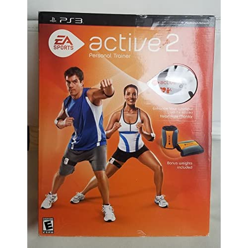 EA Sports Active 2 Bundle With Weights PS3 For PlayStation 3 HWK549