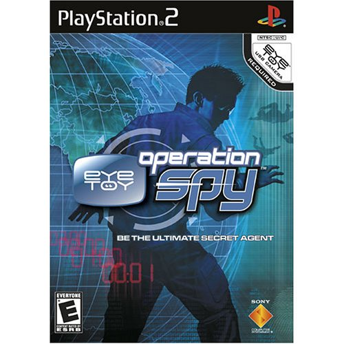 Eye Toy: Operation Spy For PlayStation 2 PS2 Racing