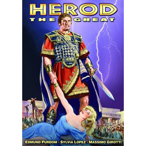 Herod The Great On DVD With Edmund Purdom