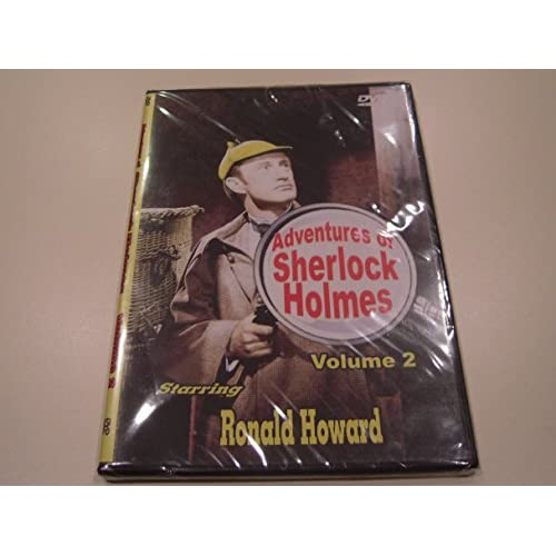 Image 0 of Adventures Of Sherlock Holmes Volume 2 Slim Case On DVD With Ronald Howard
