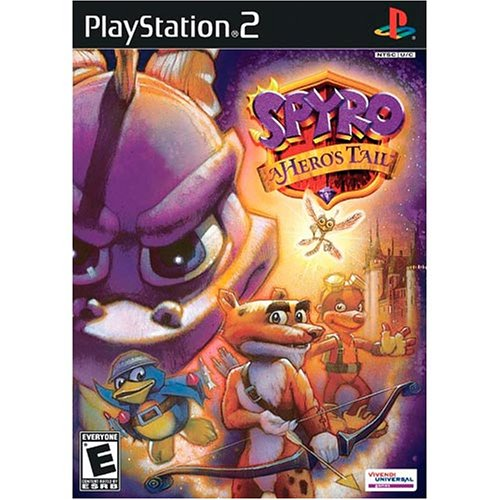 Image 0 of Spyro A Hero's Tail For PlayStation 2 PS2 Platformer