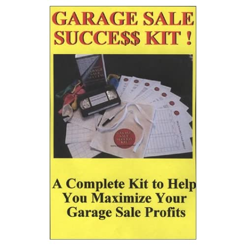 Image 0 of Garage Sale Success Video Kit On VHS