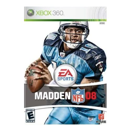 Madden NFL 08 Xbox 360 Game Only