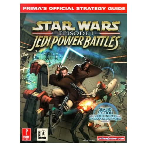 Star Wars: Episode 1 Jedi Power Battles Prima's Official Strategy Guide