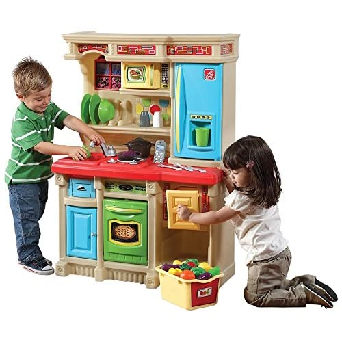 Step2 custom brights kitchen set toy for Kitchen set games