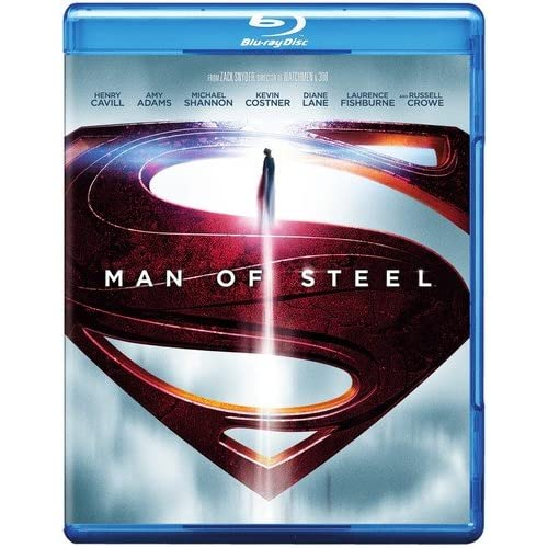 Image 0 of Man Of Steel Blu-Ray On Blu-Ray With Henry Cavill
