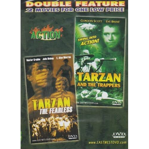 Tarzan The Fearless / Tarzan And The Trappers Slim Case On DVD With