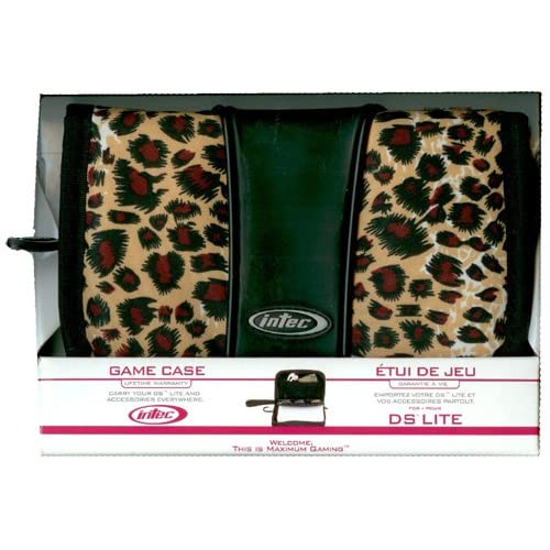 Image 0 of Nintendo Lite Game Case Leopard For DS Multi-Color