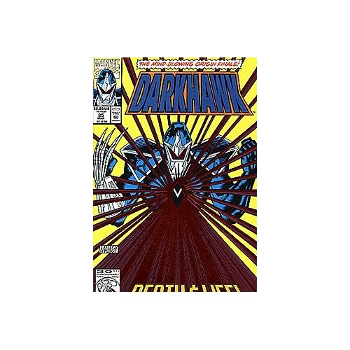Darkhawk 1991 Series #25 By Marvel Comic Book