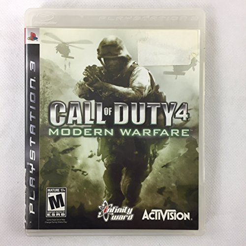 Image 0 of Call Of Duty 4: Modern Warfare For PlayStation 3 PS3 COD Shooter