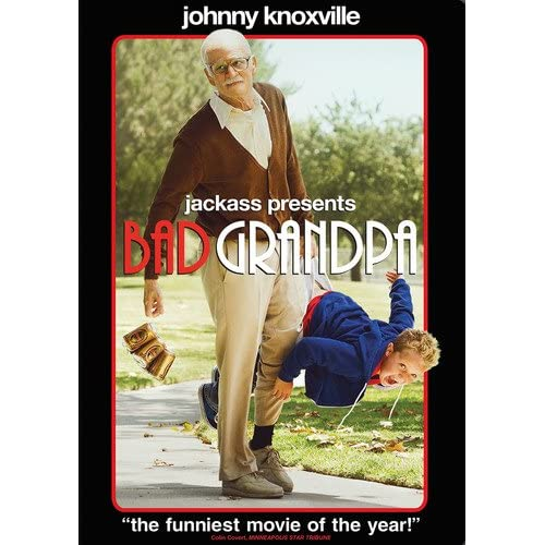 Image 0 of Bad Grandpa On DVD With Johnny Knoxville Comedy