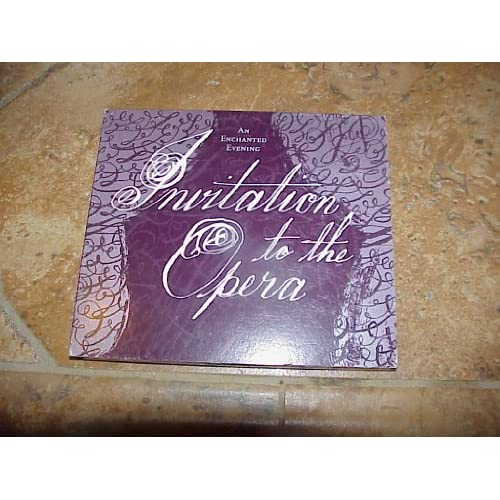 Image 0 of Invitation To The Opera: An Enchanted Evening By Various Artist On