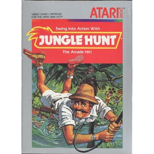 Jungle Hunt For Atari Vintage