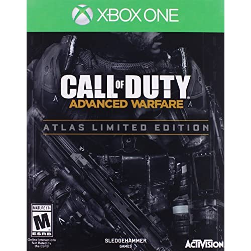 Call Of Duty: Advanced Warfare Atlas Limited Edition COD Shooter For Xbox One Wi