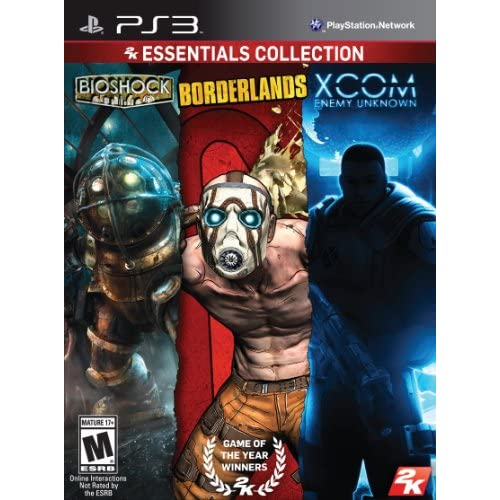2K Essentials Collection PS3 For PlayStation 3 Shooter