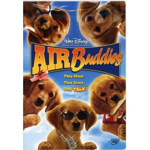 Image 0 of Air Buddies On DVD With Patrick Cranshaw Disney