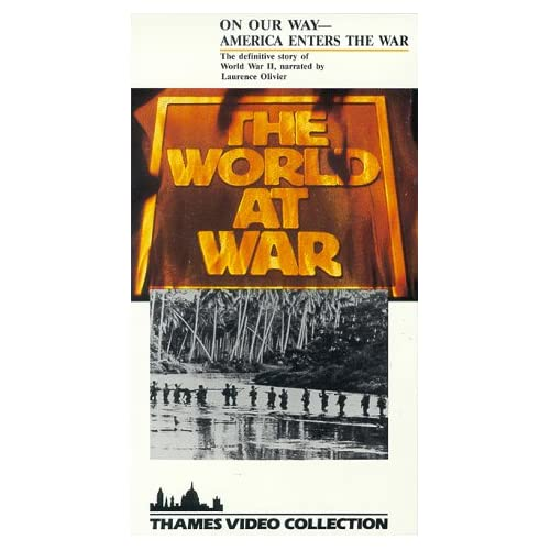 Image 0 of World At War:on Our Way/Slipsleeve On VHS With Laurence Olivier