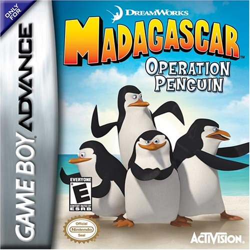 Image 0 of Madagascar Operation Penguin For GBA Gameboy Advance