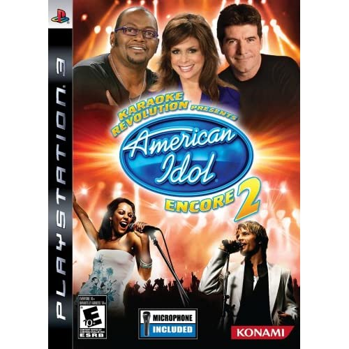 Karaoke Revolution: Presents American Idol Encore 2 With Microphone For PlayStat