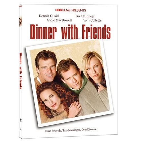 Image 0 of Dinner With Friends On DVD With Andie MAC Dowell Drama