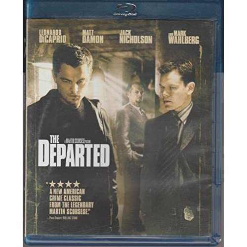 Departed The Bd Blu-Ray On Blu-Ray With Leonardo Dicaprio Drama