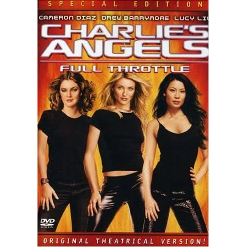 Image 0 of Charlie's Angels: Full Throttle Full Screen Special Edition On DVD with Drew Bar