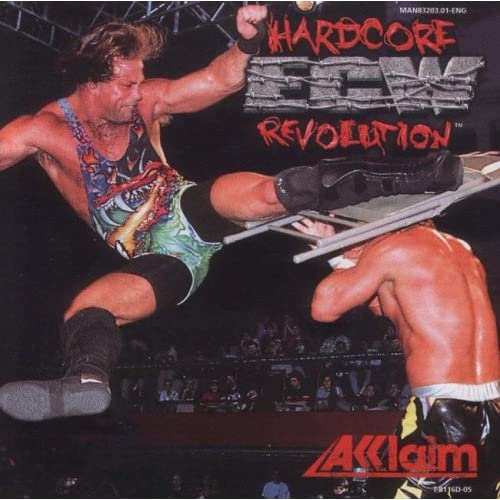 ECW Hardcore Revolution By Acclaim For Sega Dreamcast
