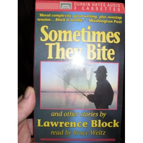 Image 0 of Sometimes They Bite By Lawrence Block And Bruce Weitz Narrator On Audio Cassette