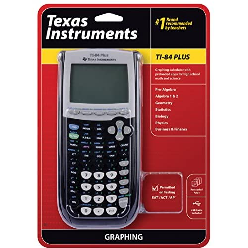 Texas Instruments TI-84 Plus Graphing Calculator Black