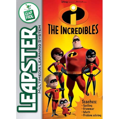 Image 0 of Leapfrog Leapster Educational Game: The Incredibles For Original Leapster And Le