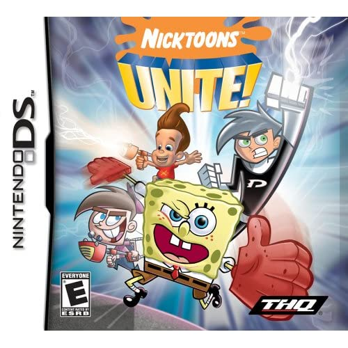 Image 0 of Nicktoons Unite! For Nintendo DS DSi 3DS 2DS