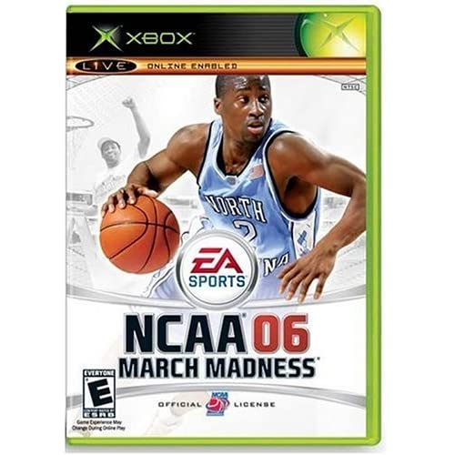 NCAA March Madness 06 For Xbox Original Basketball With Manual and